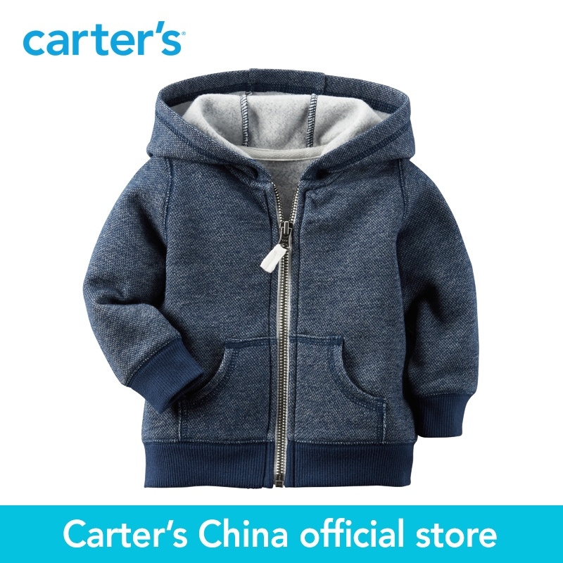 Carter s 1pcs baby children kids French Terry Cardigan 118G728 sold by Carter s China official