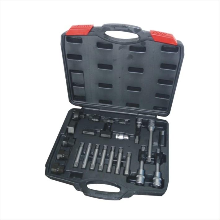 купить 24P Alternator Pulley Freewheel Removal Set Engine Repair Tool по цене 3286.67 рублей