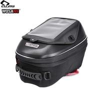 CUCYMA 18 23L Motorcycle Oil Fuel Tank Bags Pockets Mobile Phone Navigation Bag GPS for KTM KAWASAKI DUCATI