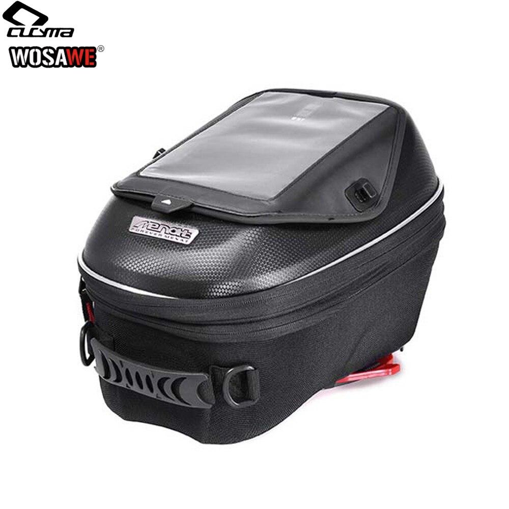 CUCYMA 18 23L мотоциклетная масляная топливная сумка без ручки карманы для навигации по мобильному телефону сумка gps для KTM KAWASAKI DUCATI-in Сумки на бак from Автомобили и мотоциклы