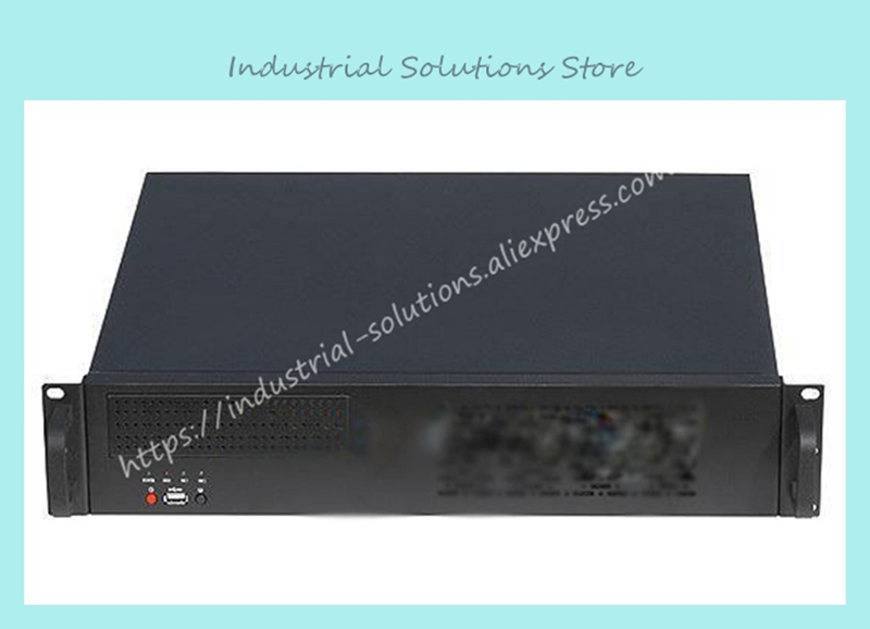 New 2U-400 Short Exquisite 2U Server Industrial Computer Case