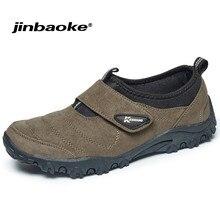 JINBAOKE chaussures de randonnée pour hommes en plein air chaussures de randonnée imperméables antidérapantes baskets d'escalade sport chaussures de chasse respirantes Size39-45