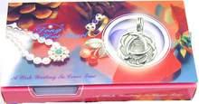 Женское Ожерелье чокер qingmos кулон с жемчугом 17 мм подвеской