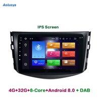Aoluoya ips 4G Оперативная память 32G Встроенная память Octa Core Android 8,0 Автомобильный DVD плеер для Toyota RAV4 для Toyota Previa RAV 4 2007 2008 2009 2011 радио gps навигации