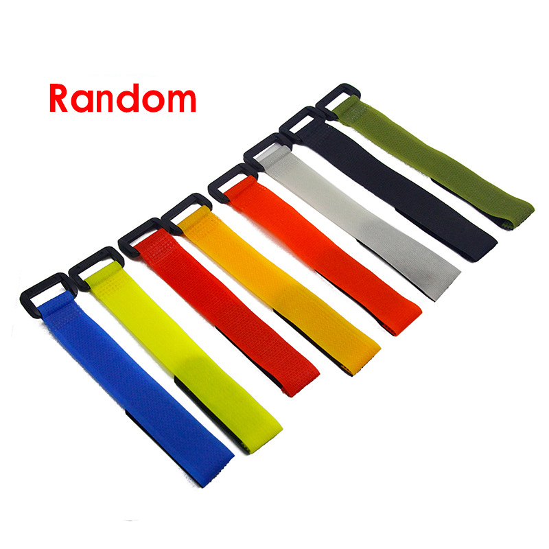 2pcs/lot Reusable Fishing Rod Tie Holder Strap Suspenders Fastener Hook Loop Cable Cord Ties Belt Fishing Tackle Box Accessories