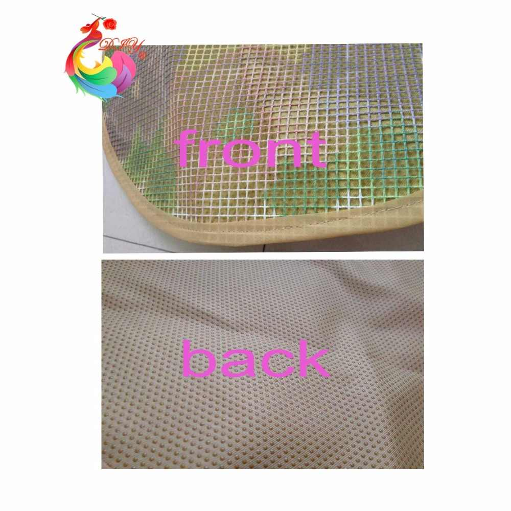 3dラッチフック敷物キットdiy針仕事未完成かぎ針敷物糸クッションマット漫画馬刺繍カーペット送料無料