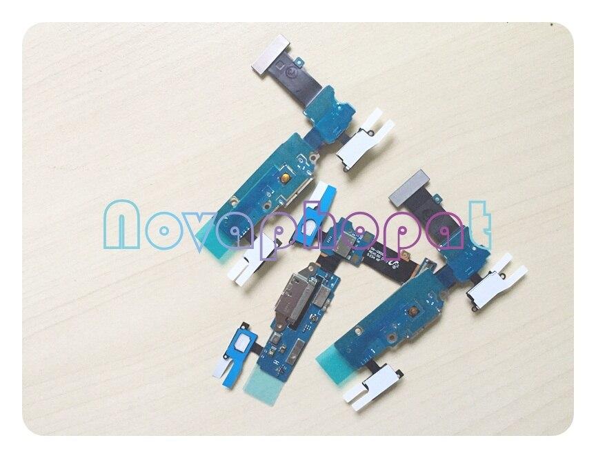 Image 3 - Novaphopat chargeur flexible pour Samsung s5 G900F G900H G900F  chargeur connecteur Micro usb dock port câble flexible Microphone 10  pièces/lotCâbles flexibles pour téléphones mobiles