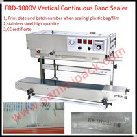 Freeshipping Automatic Plastic Impulse Heat Sealing Machine Rubber Band Seal Custom Printed Heat Seal Plastic Bag