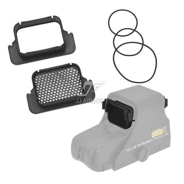 Jj Airsoft Killflash Kill Flash Protector Cover Voor Eotech Roodpuntvizier 551 552 553 518 558 512 552 XPS2 EXPS2 XPS3 EXPS3