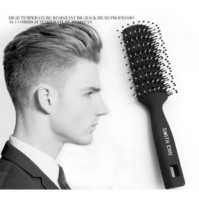220819/Male ribs comb big style massage comb anti-static curly hair comb/Imported resin/Exquisite craftsmanship