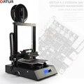Ortur 3D-принтеры Модернизированный Высокое качество экструдер плюс Размеры LCD12864 Экран для рабочего стола, быстрая установка дешевые 3D-принте...