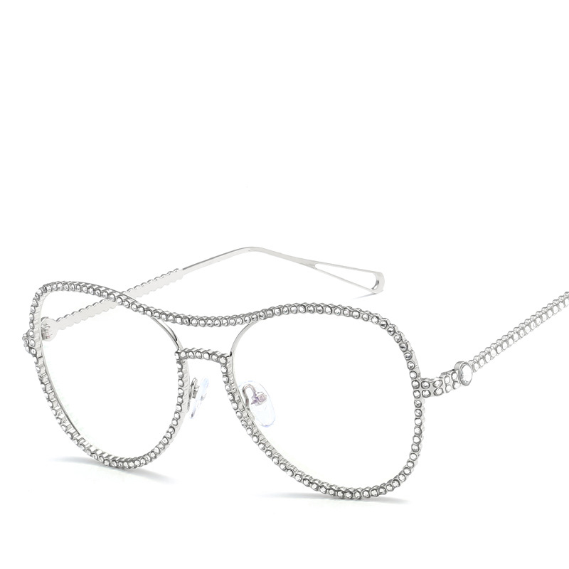 2018 New Trend Hot Luxurious Diamond Women Eyeglasses Sun Glasses ...