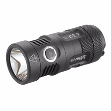 Manker MK41 HD 2000 Lumens Cree XHP35 HD LED Flashlight Compact Thrower Torch Use 4x AA / 4x 14500 Batteries