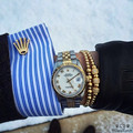 17-21cm New Luxury Pave White CZ Round Mircro CZ Paved Connector Bracelets Men Braided Macrame Charm Bracelet Pulseras Mujer