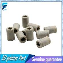 10* Solid Polymer Anet Bearing LM8UU Bearing 8mm Shaft VS Drylin RJ4JP-01-08 For Anet Reprap Prusa i3 3D Printer ID 8mm OD 15mm