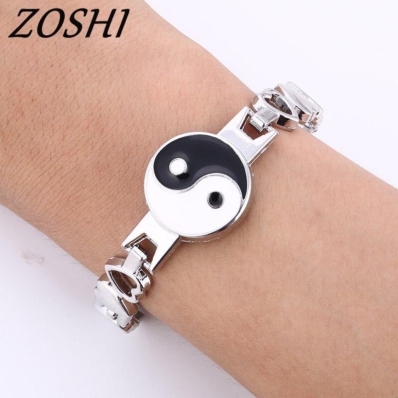 ZOSHI Fashion New Stainless Steel Charm Bracelet Me