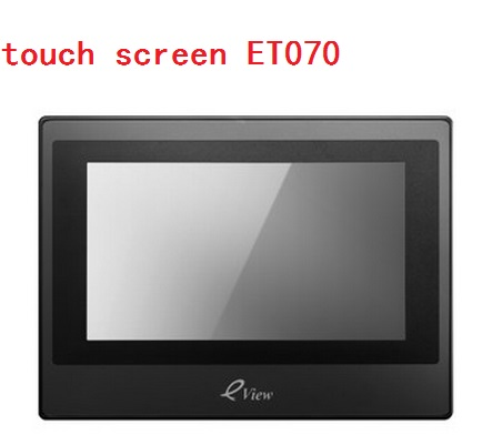 Kinco Eview 7inch TFT color,Resistive HMI High-resolution touch screen ET070,Operate Panel Text display,Free Shipping 7 inch et070 eview hmi touch panel module with programming cable
