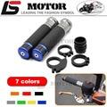 Motorcycle Handle bar / Handlebar Grips Carbon Fiber Material 7/8'' CNC 22MM FOR YAMAHA YZF1000 R1 YZF600 R6 FZ1 FZ6 FZ400 FZ8