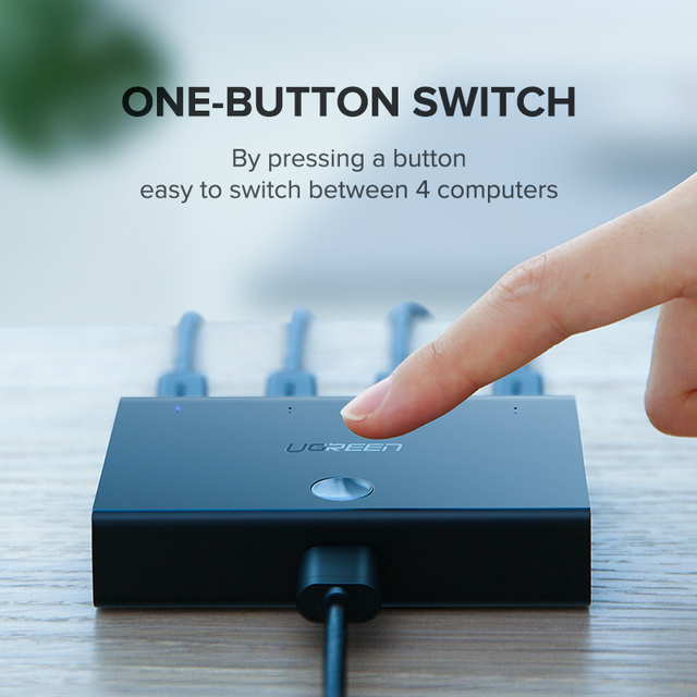 Multi Ported USB Sharing Switcher