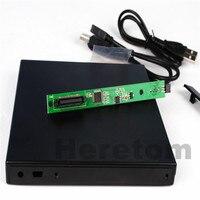 Heretom 12.7 مللي متر USB 2.0 الخارجية DVD/CD-ROM حالة IDE/PATA إلى SATA البصرية محرك أقراص DVD خارجي الضميمة لأجهزة الكمبيوتر المحمول PC