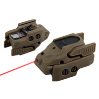 Hot Sale Tactical Mini Laser Sight Red Laser Sight With Two Holes For Hunting BWL 001Tan