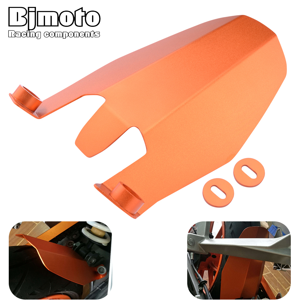 BJMOTO Motorcycle CNC Aluminum Rear Fender Extension Extender For KTM DUKE 390 2013-2018 DUKE 250 2017-2018 DUKE 125 DUKE 200 enkay crystal hard protective case for 13 inch macbook pro with retina display orange