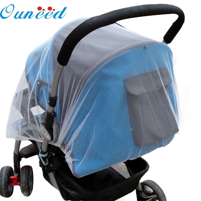 hot sale mosquito net 2017 Summer Safe Baby Carriage Insect Full Cover Mosquito Net Baby Stroller Bed Netting #0818 B