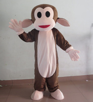 smile face apes monkey mascot costume for adult to wear