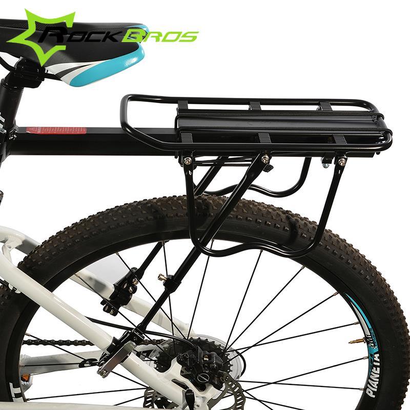 ROCKBROS все Quick Release Велосипедный Спорт сзади стойки Алюминий сплава MTB велосипеда держатель Велоспорт Цикл Путешествия Чемодан стойки