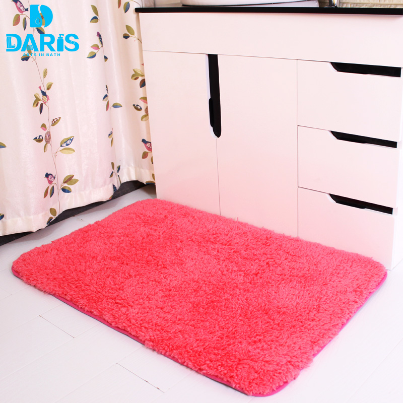 DARIS Livingroom Bathroom Mat Set Comfortable Kitchen Bedroom Carpet Pad Super Absorbent Plush