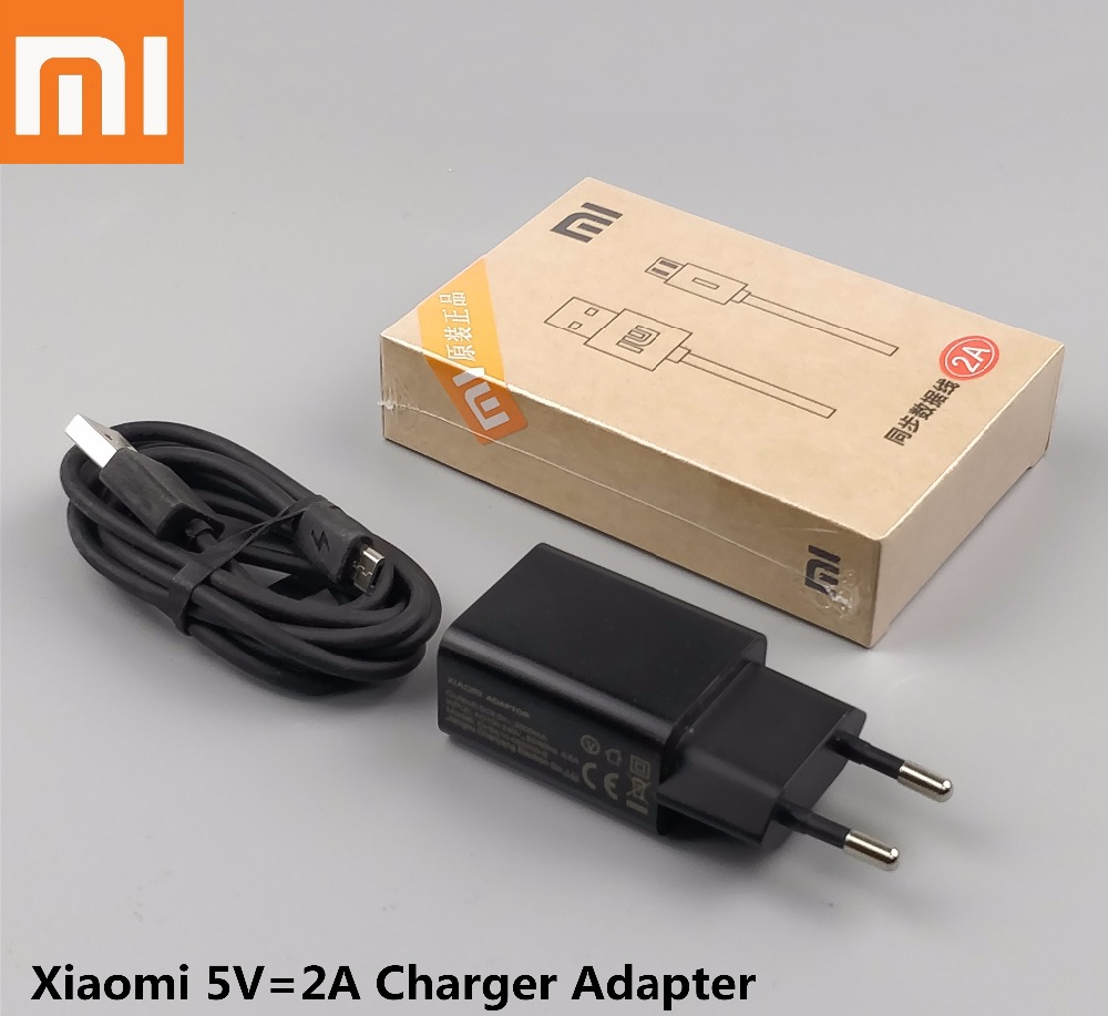 xiaomi redmi note 5 pro Charger original 5V 2A Eu wall Charge Adapter Genuine Micro Usb