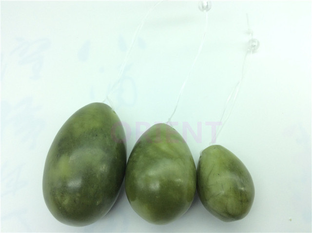 Jade egg for Kegel Exercise 3pcs in 1 set pelvic floor muscles