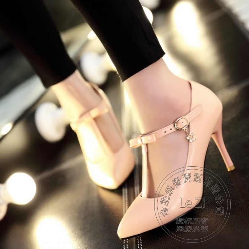 Young Gril Shoes font b Women b font Cheap Stiletto Heels China Celebrity Leisure Shoes Ladies