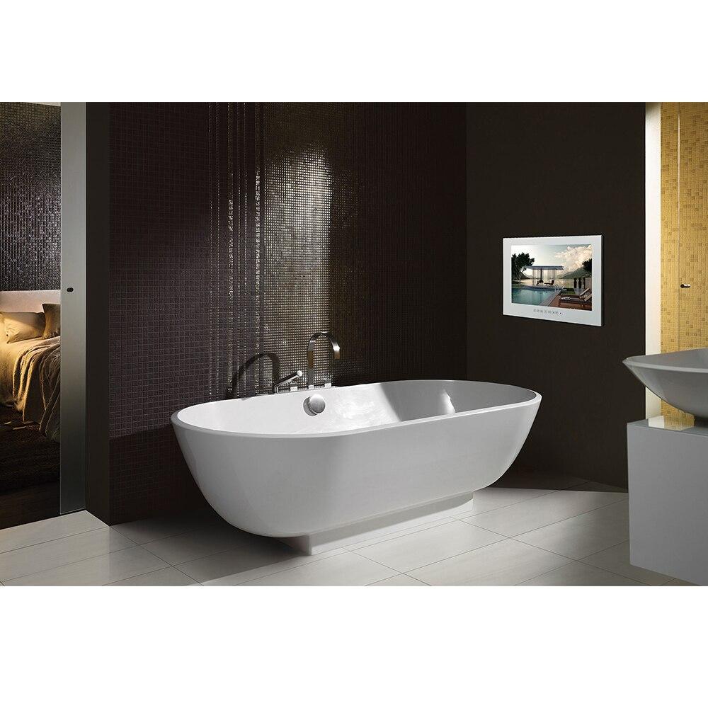 HTB19F0YhiqAXuNjy1Xdq6yYcVXaY Souria 22 inch Android 9.0 Smart Glass for Bathroom Digital Waterproof Black Finish Hotel LED TV