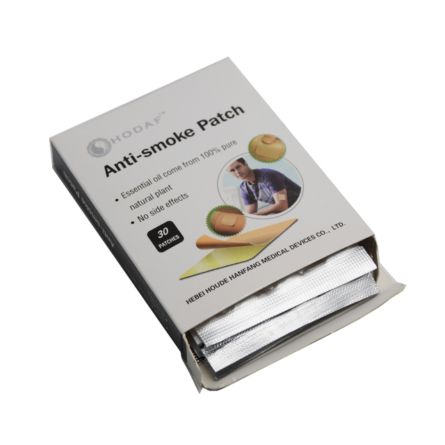 30pcs Patch Nicotine Patch SmokingAnti-smoking Pad Stop Smoking  Cessation Nicotine Patch Tabacco Leaf Health Care C744(4) 4