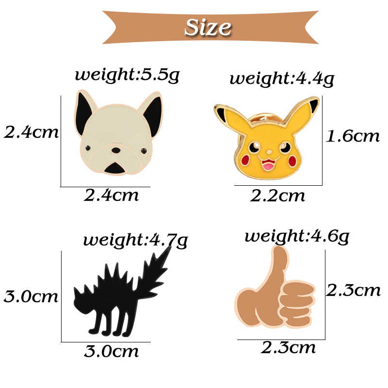 Kawaii Chân Anime Nhật Bản Thổ Cẩm Cho Bé Baby Magic Huy Hiệu Nữ Mèo Xương Pokemon Đô Bò Cáo Ngón Tay Cái Mặt Nạ Lưng Nút Động Vật bộ trang sức