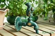 Сад, ведущие сад кран стиральная машина tap tap зеленый античная античная кран белка
