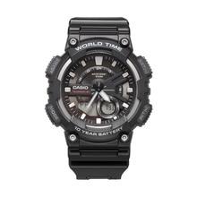 カシオ腕時計スポーツシリーズスマートデュアルディスプレイの多機能電子メンズ腕時計 AEQ-110W-1A