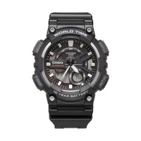Casio watch sports series smart dual display multi function electronic men's watch AEQ 110W 1A