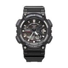 Casio นาฬิกาชุดกีฬาสมาร์ทแบบ Dual Multi Function นาฬิกาผู้ชายอิเล็กทรอนิกส์ AEQ 110W 1A