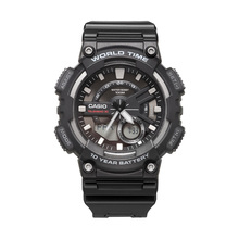 Casio watch sports series smart dual display multi function electronic mens watch AEQ 110W 1A