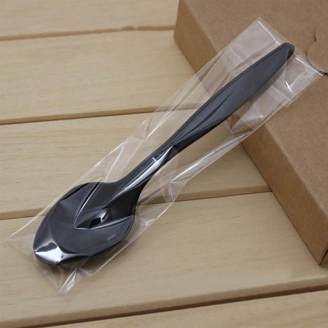 Disposable Plastic Spoons 100 pcs/lot