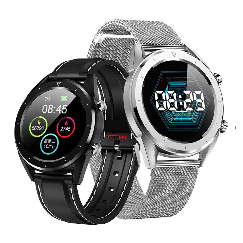 Q8 Smart Uhr IP68 Wasserdichte Zahlung EKG Herz Rate Monitor Fitness Tracker Handgelenk band mehrere sport Bluetooth Smartwatch