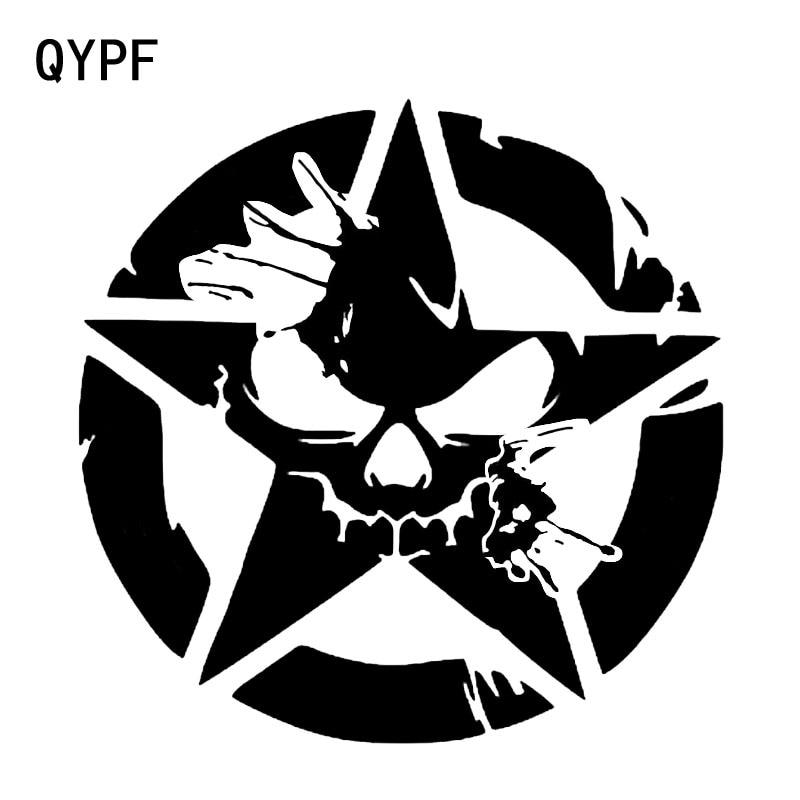 Qypf 16 16cm Interesting Skull Splatter Punisher Graphic
