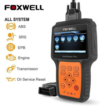 Foxwell NT624 Pro ALL System OBD2 Code Scanner ABS SRS Transmission Engine Lifetime Free Update Online OBD OBD 2 Diagnostic Tool foxwell nt624