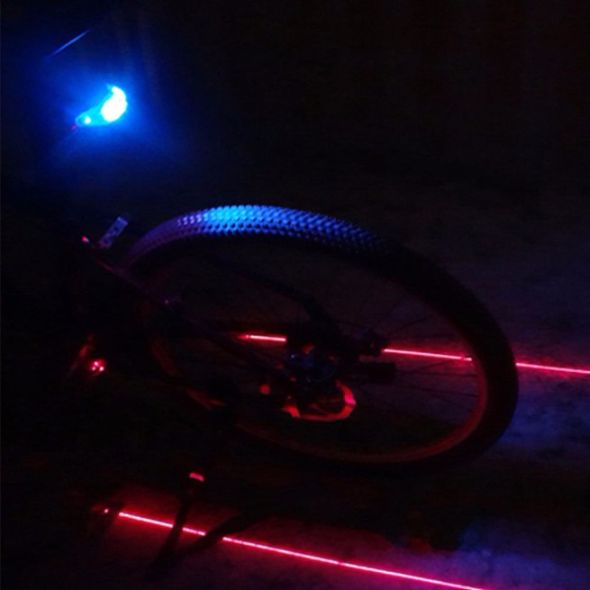 2015.11.11 Cycling Bike light Bicycle Led Laser Tail Light (6)