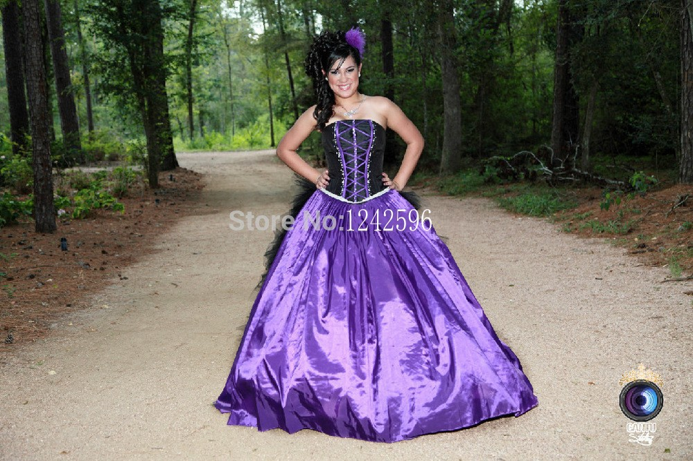 2017 Halloween Ball Gown Backless Strapless Distinctive