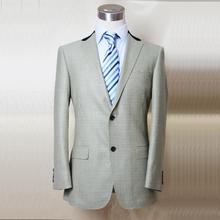 pickle color dog tooth wool check single button 2 man's casual suit, pickle/coffee, tailor made man's MTM suit free shipping