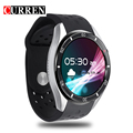 CURREN Dial Call Remi Quad Core 512MB+8GB RAM Heart Rate Monitor With Bluetooth Sleep Tracker GPS And Alarm Smart Watch For Men