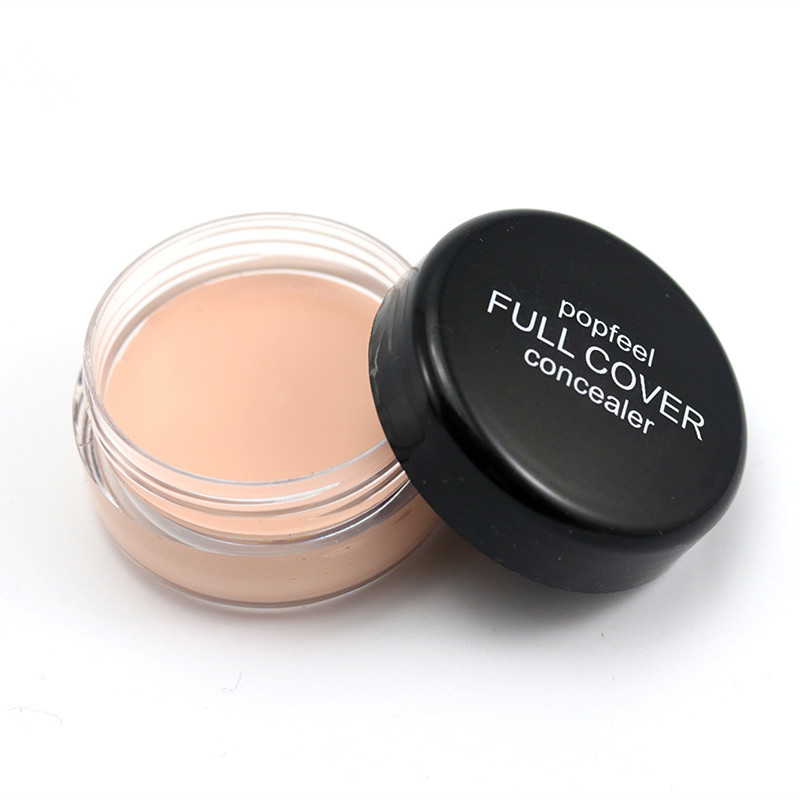 Single Color Concealer Cream 5 Colors Optional Strong Corrector Skin Reduce Wrinkle Eye Black Circle Hide Blemish Face Eye HOT